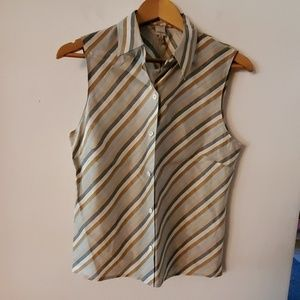 Anne Klein 2 NWT Multi Color Blouse - 12